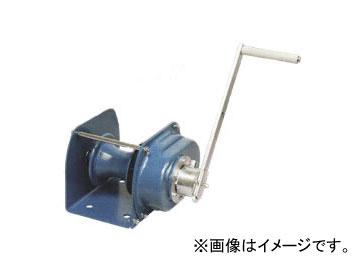 富士製作所/Fuji Seisakusyo 横引きエンドレス作業用 ハンドルロック式ウインチ LHW-100CP