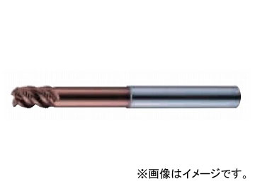 日立ツール/HITACHI エポックミルス タイプR 4枚刃・ラジアス・ストレート・5Dc 8×85mm EMXR4080-40-20-TH
