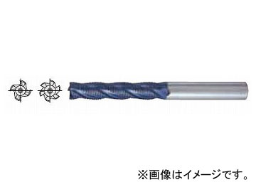 日立ツール/HITACHI ESM-Cコートラフィングエンドミル ロング刃長 10×45×100mm ESMQL10