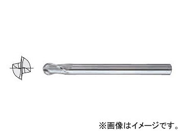 日立ツール/HITACHI ESMボールエンドミル Cコート 20×38×180mm 2ESMB10R