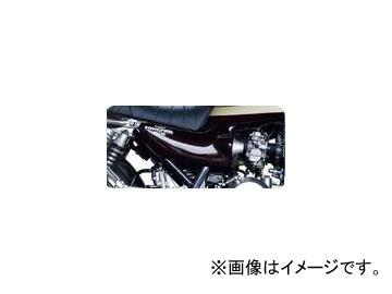 2輪 POSH Faith Z IIタイプサイドカバー ホワイトゲルコート 030200-WG カワサキ ゼファー750/RS ~2006年