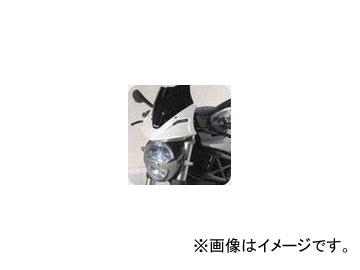 2輪 POSH Faith Ermax TdF メーターバイザー カウル部カラー:パールホワイト ドゥカティ M696/1100 2008年~2010年