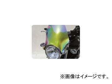 2輪 POSH Faith Ermax スピードマックスユニバーサルメーターバイザー イリジウム 900120-IR