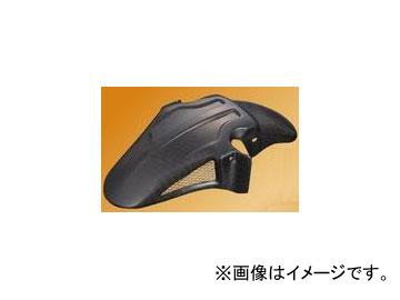 2輪 POSH Faith 3D-TECH フロントフェンダー FRP製 ブラックゲル 072106-BG カワサキ ZRX1100/1200 ~2008年