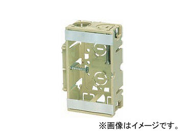 未来工業/MIRAI 台付スライドボックス タッピンねじ付 1個用 SBO-EM ライトグリーン 106×65×36mm 入数:100個