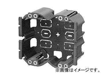 未来工業/MIRAI SBホルソー用パネルボックス(あと付はさみボックス) 2ヶ用 SBP-2EY 95.5×108mm 入数:20個