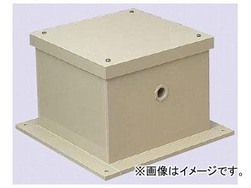 未来工業/MIRAI 液面電極保護ボックス 防水<カブセ蓋> 正方形<ノック無> 520×520×207.5mm