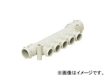 未来工業/MIRAI アダプターヘッダー ストレートタイプ(Hタイプ)(35mmピッチ) 299mm 分岐口数:6