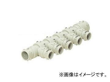 未来工業/MIRAI 回転アダプターヘッダー Hタイプ(50mmピッチ) 416mm 分岐口数:7