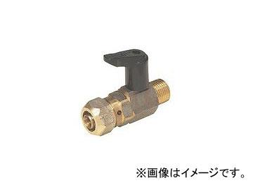 未来工業/MIRAI バルブ付アダプター おねじ 逆止弁無し MOV-20H-20GPB 81mm