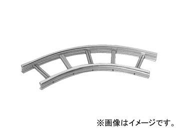 未来工業/MIRAI EGラック 水平ベンドラック 60° 80型用 SRA80H-60-100 1000×80mm