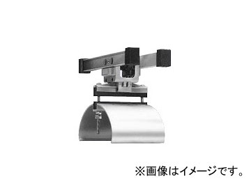 未来工業/MIRAI アルミレール用ケーブルカッシャー 600N型 フラットケーブル用 ブラケット125R CKA-601N 192×324mm