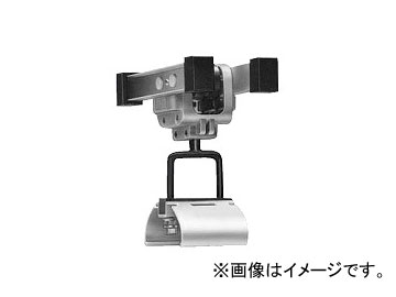 未来工業/MIRAI アルミレール用ケーブルカッシャー 5000B型 ブラケット70R CKA-5007B 210×232mm