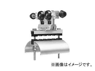 未来工業/MIRAI 内走行用アルミレール用ケーブルカッシャー 650型 キャプタイヤケーブル並列用 ブラケット70R CKA-652 160×215mm