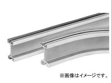 未来工業/MIRAI 中量用アルミレール 直線レール CKA-4ML 4000×96mm