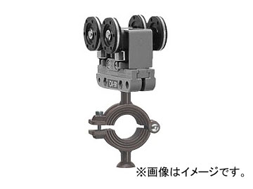 未来工業/MIRAI C形鋼内走行用ケーブルカッシャー 90型 C形鋼45×75×2.3×45mm用 CK-94 163×90mm