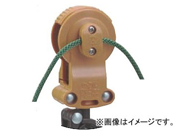 未来工業/MIRAI ケーブルカッシャー付属品 ロープクランプ クランプ50個 ロープ長さ50m CKB-50M