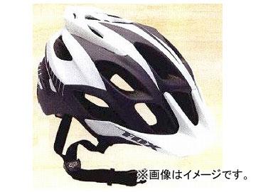 2輪 フォックスレーシング フラックスヘルメット 20001 グレイ/ホワイト サイズ:S/M(56~58cm),L/XL(59~63cm)