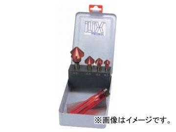ムラキ イリックス カウンターシンクセット TiAINコーティング(難削材・SUS用) 6277 4本組セットAL