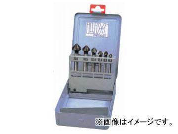 ムラキ イリックス カウンターシンクセット DLCコーティング(アルミ用) 6本組 6277S-DC