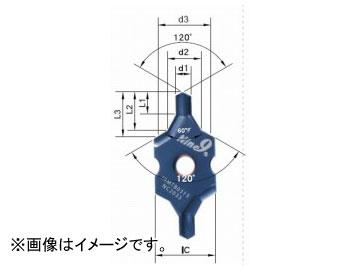 ムラキ ナイン・ナイン インサート式センタードリル i-Center A+B型インサート(60°+120°) I9MT2004B0800-NC2033