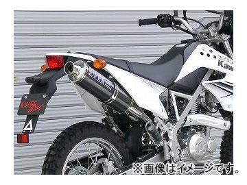 2輪 OVER ステンカーボン マフラー 13-701-06 カワサキ D-トラッカー125 JAN:4539770103926