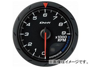 デフィ/Defi デフィリンクメーター アドバンスCR タコメーター DF09404 φ60 黒 照明色:ホワイト/アンバーレッド