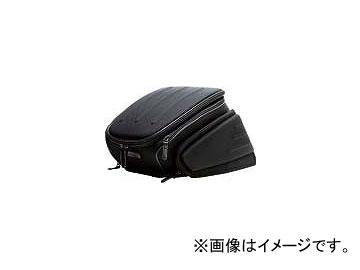 2輪 モトフィズ エアロシートバッグ2 12.5L~18.5L P042-6262 ブラック 220×320×400mm