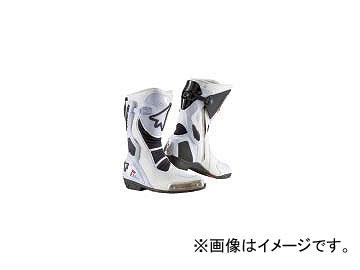 2輪 スティルマーティン ブーツ STEALTH レーシングモデル ホワイト サイズ:25.5cm,26.5cm,27.0cm,27.5cm,28.5cm他