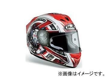2輪 HJC ヘルメット FS-15 トロフィー ホワイト/レッド サイズ:S,M,L,XL