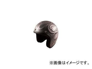 2輪 72ジャムジェット ヘルメット GHOST FLAME JG-シリーズ P039-5203 シルバー