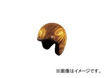 2輪 72ジャムジェット ヘルメット GHOST TRIBAL JG-シリーズ P039-5206 ゴールド