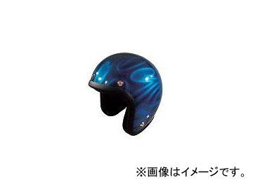 2輪 72ジャムジェット ヘルメット GHOST TRIBAL JG-シリーズ P039-5207 ブルー