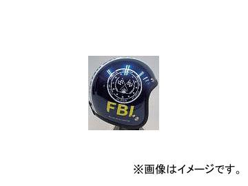 2輪 72ジャムジェット ヘルメット JJシリーズ F.B.I. P034-0359 ブラック