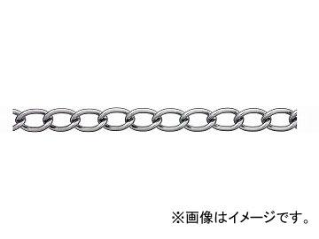 ニッサチェイン/NISSA CHAIN ワイドマンテル 鉄 クローム 30m IM132 JAN:4968462050000