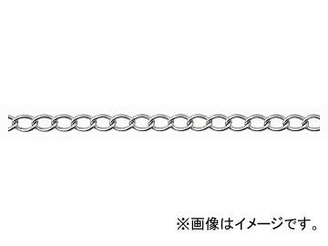 ニッサチェイン/NISSA CHAIN ワイドマンテル ステンレス 電解研磨 30m SM123 JAN:4968462061617