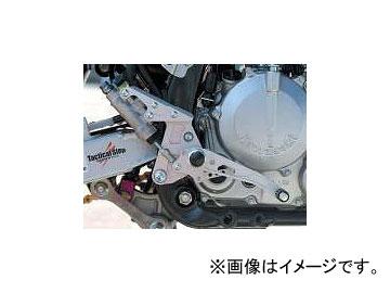 2輪 スパイス タクティカルステップ 1ポジション 0102BS1K202A シルバー カワサキ D-トラッカー/X/KLX/SB ~2009年