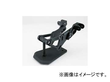 2輪 スパイス タンデムキット 0102BSTBK104B ブラック 材質:アルミ カワサキ ゼファー1100/RS ~2006年