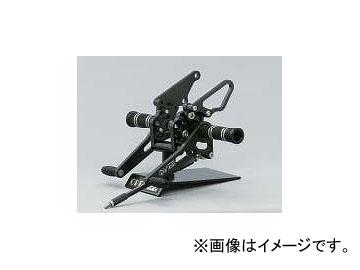 2輪 オーヴァーレーシング バックステップ P026-3701 ブラック ヤマハ XJR1200/1300 ~2007年