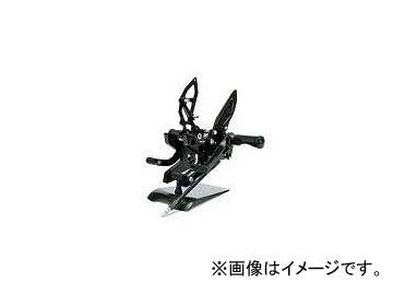 2輪 NAO アーチドステップ P027-9505 ブラック 逆チェンジ可 カワサキ Z1000 2007年~2009年