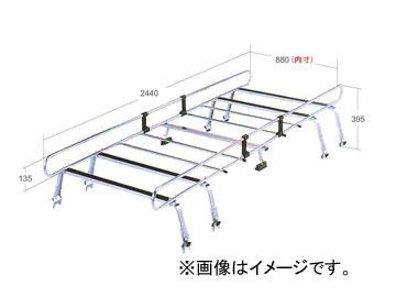 ロッキー ルーフキャリア STRシリーズ 8本脚 専用タイプ STR-555SH スバル/富士重工/SUBARU サンバートライ ハイルーフ(サンルーフ無) TV系 H11.2~