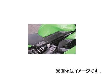 2輪 エーテック タンクサイドカバー(セット) P044-4391 綾織カーボン カワサキ ニンジャ400R