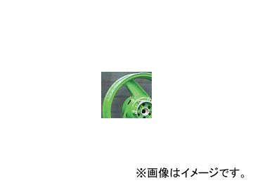 2輪 スペックエンジニアリング 純正流用ワイドホイールキット typeB 17インチ P044-4605L ライムグリーン 5.00-17 リヤ カワサキ GPZ900R A7-