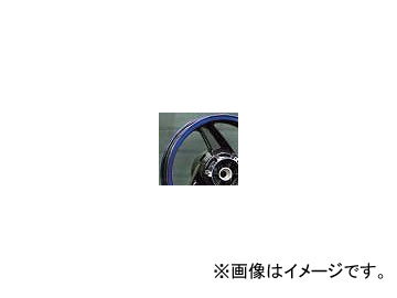 2輪 スペックエンジニアリング 純正流用ワイドホイールキット typeA 17インチ P044-4603PB クリアブルー/ブラック 5.50-17 リヤ カワサキ GPZ900R A7-