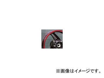 2輪 スペックエンジニアリング 純正流用ワイドホイールキット typeA 17インチ P044-4601PR クリアレッド/ブラック 4.50-17 リヤ カワサキ GPZ900R A7-