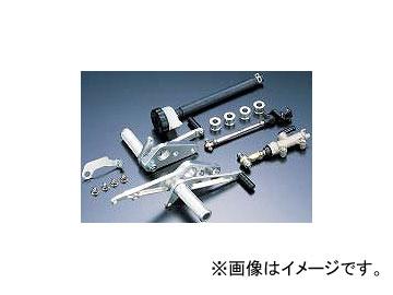 2輪 PMC ビレットバックステップキット タイプ1 P039-1669 シルバー カワサキ Z1/Z2/Z750-1000/Z1R