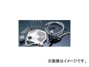 2輪 PMC ビレットハイドロクラッチキット フルカバータイプ P038-6062 シルバー カワサキ Z1/Z2,Z750-1000/J/R,GP/GPZ 1972年~1985年
