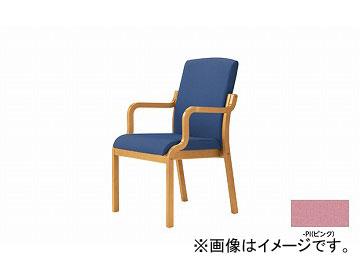 ナイキ/NAIKI 木製チェアー ハイバック ピンク E277-PI 540×605×895mm