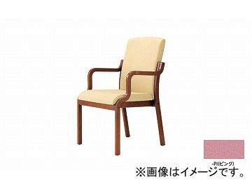 ナイキ/NAIKI 木製チェアー ハイバック ピンク E277BR-PI 540×605×895mm