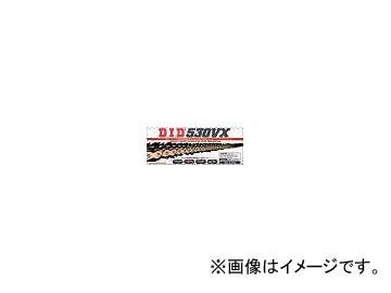2輪 D.I.D モーターサイクルチェーン(No.428VM) X-リング 130L ゴールド